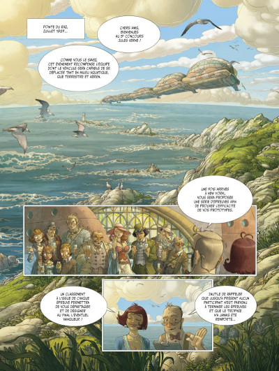 Page 1 Le voyage extraordinaire tome 3