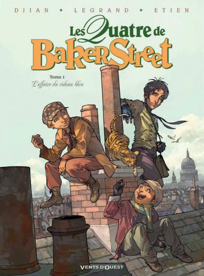 Page 1 les quatre de Baker Street - coffret