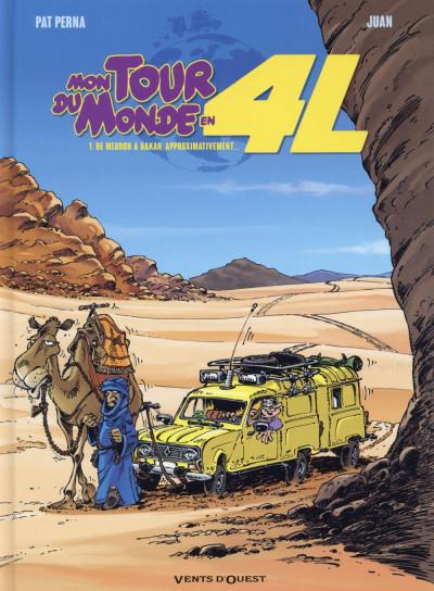 Couverture Mon tour du monde en 4L tome 1 - De Meudon à Dakar, approximativement…
