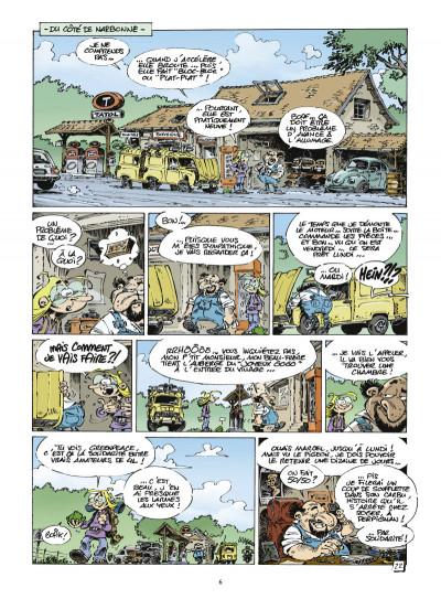 Page 4 Mon tour du monde en 4L tome 1 - De Meudon à Dakar, approximativement…