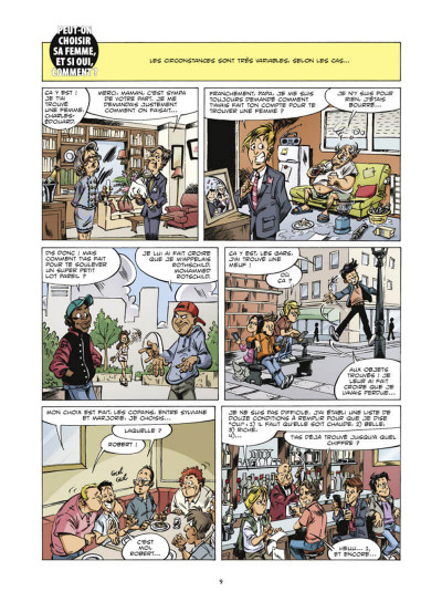 Page 9 le guide en bd tome 44 - la femme (à l'usage des hommes