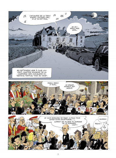 Page 1 la Romanée contée ; Pinot noir contre dragon blanc