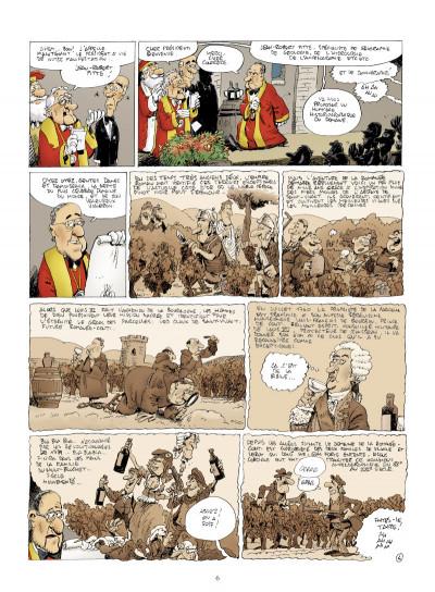 Page 4 la Romanée contée ; Pinot noir contre dragon blanc