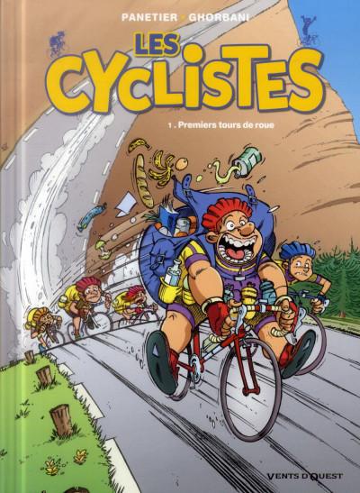 Couverture les cyclistes tome 1 (nouvelle édition)