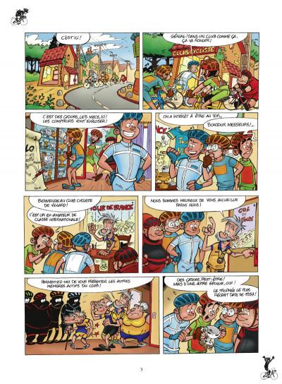 Page 1 les cyclistes tome 1 (nouvelle édition)
