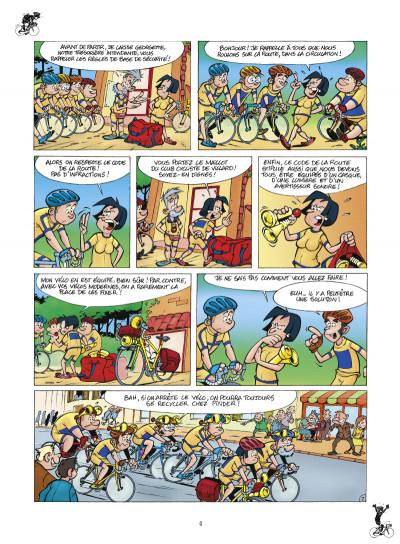 Page 2 les cyclistes tome 1 (nouvelle édition)