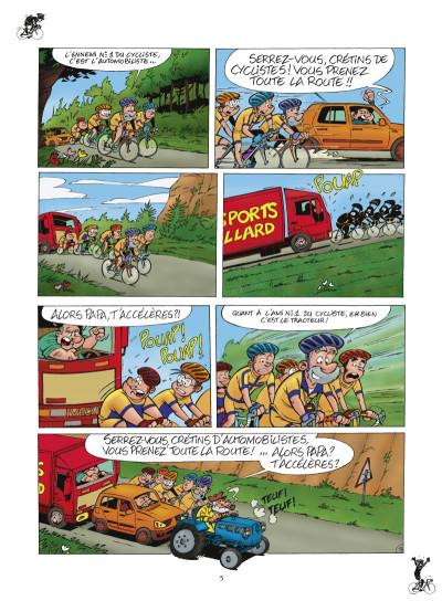 Page 3 les cyclistes tome 1 (nouvelle édition)