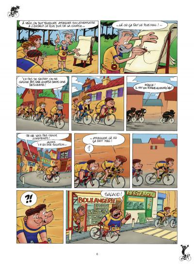 Page 4 les cyclistes tome 1 (nouvelle édition)