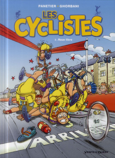 image de les cyclistes tome 2 (nouvelle édition)
