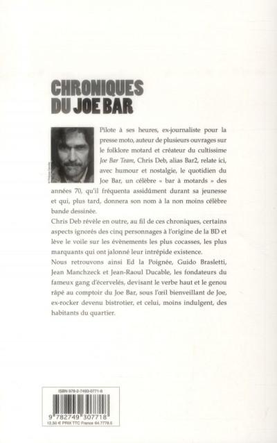 Dos chroniques du Joe Bar