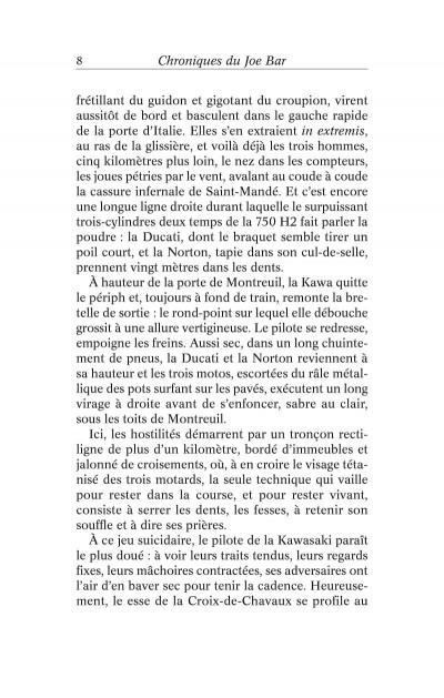 Page 2 chroniques du Joe Bar