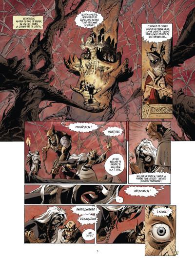 Page 1 Le monde de l'épée de cristal tome 1 - Zorya la noire 1/3