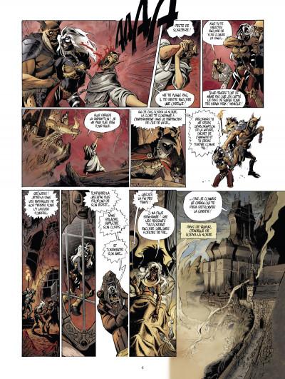 Page 2 Le monde de l'épée de cristal tome 1 - Zorya la noire 1/3
