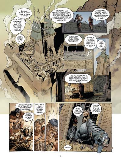 Page 3 Le monde de l'épée de cristal tome 1 - Zorya la noire 1/3