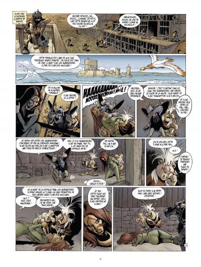 Page 4 Le monde de l'épée de cristal tome 1 - Zorya la noire 1/3