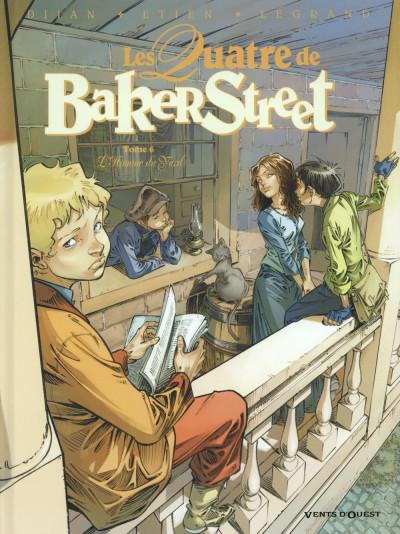 Couverture Les quatre de baker street tome 6