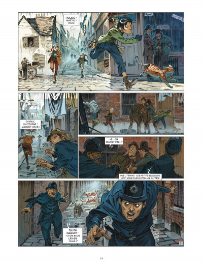 Page 0 Les quatre de baker street tome 6