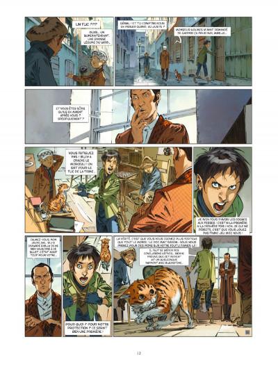 Page 2 Les quatre de baker street tome 6