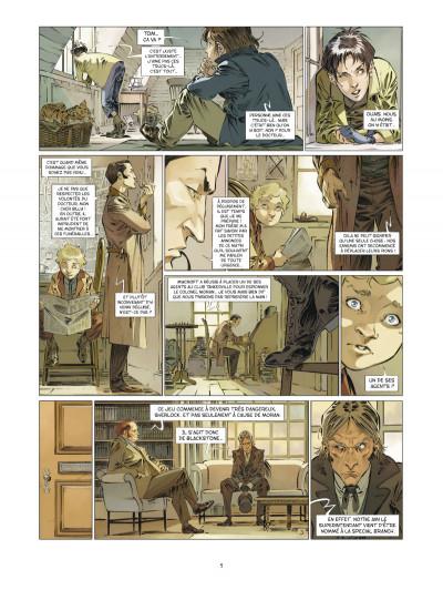 Page 3 Les quatre de baker street tome 6