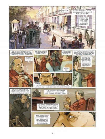 Page 4 Les quatre de baker street tome 6