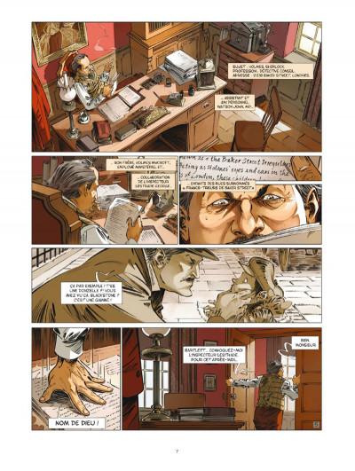 Page 7 Les quatre de baker street tome 6