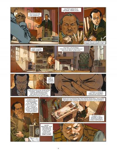 Page 8 Les quatre de baker street tome 6