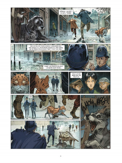 Page 9 Les quatre de baker street tome 6