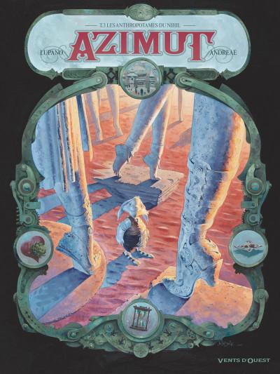Couverture Azimut tome 3