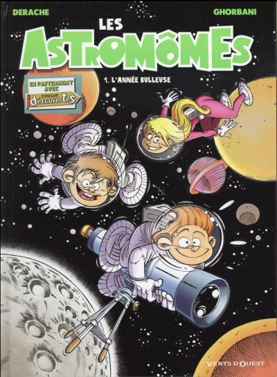 Couverture Les astromomes tome 1
