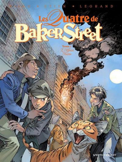 Couverture Les quatre de Baker street tome 7