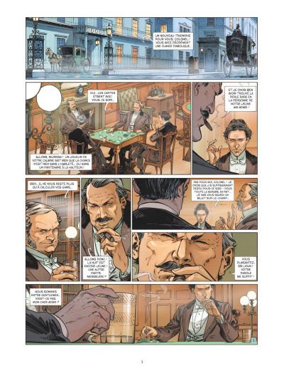 Page 1 Les quatre de Baker street tome 7