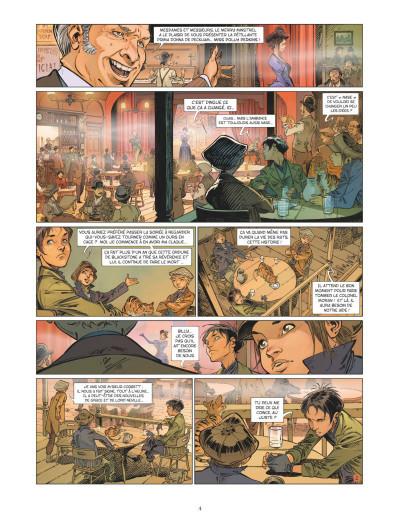 Page 2 Les quatre de Baker street tome 7