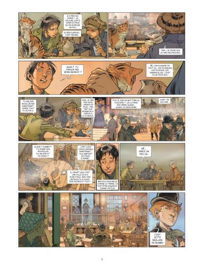 Page 3 Les quatre de Baker street tome 7