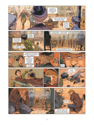 Page 4 Les quatre de Baker street tome 7