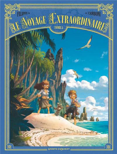 Couverture Le voyage extraordinaire tome 5