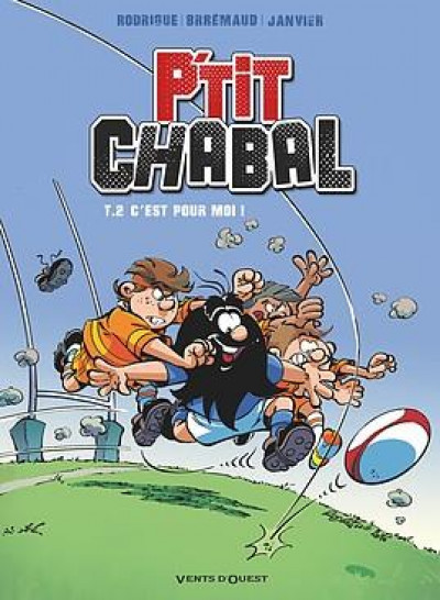 Couverture P'tit Chabal tome 2