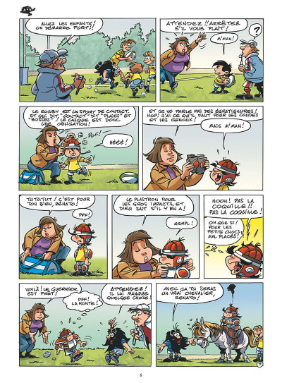 Page 8 P'tit Chabal tome 2