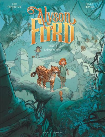 Couverture Alyson Ford tome 1