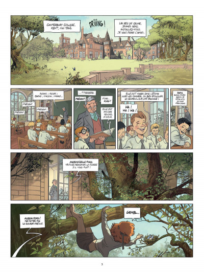 Page 1 Alyson Ford tome 1