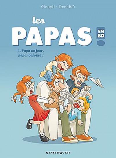 Couverture Les papas en BD tome 1