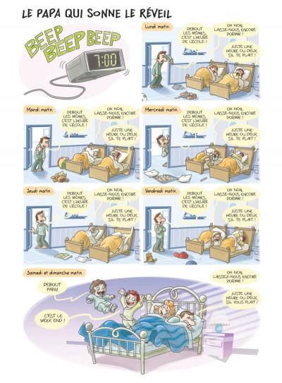 Page 1 Les papas en BD tome 1