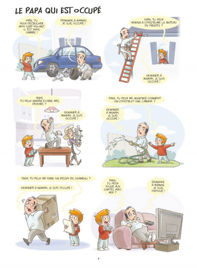 Page 2 Les papas en BD tome 1