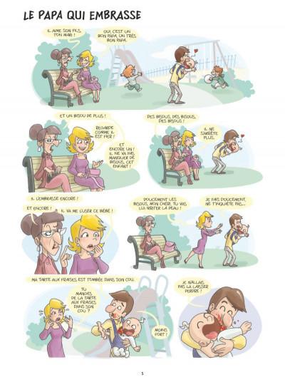 Page 3 Les papas en BD tome 1