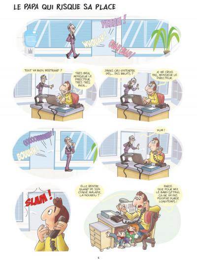 Page 4 Les papas en BD tome 1