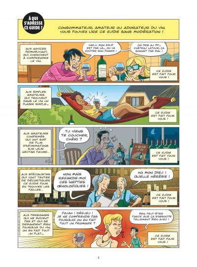 Page 1 Le guide en BD tome 49 - Le vin
