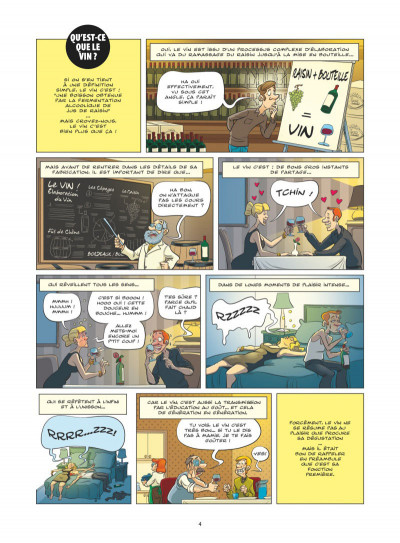 Page 2 Le guide en BD tome 49 - Le vin