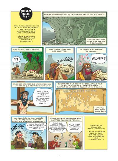 Page 3 Le guide en BD tome 49 - Le vin