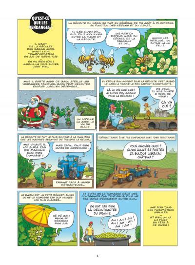 Page 4 Le guide en BD tome 49 - Le vin