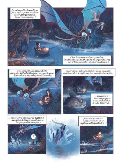 Page 2 Sorceline tome 1