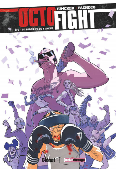Couverture Octofight tome 2